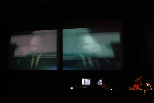 Rex - video, Dan Clark on the decks + sampler