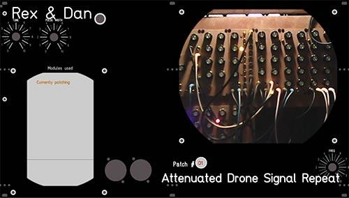 Rex&Dan live stream modular synthesiser 31/01/15